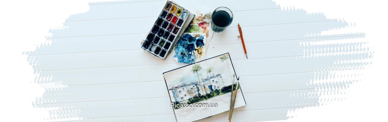 Обзор акварельных красок Невская Палитра