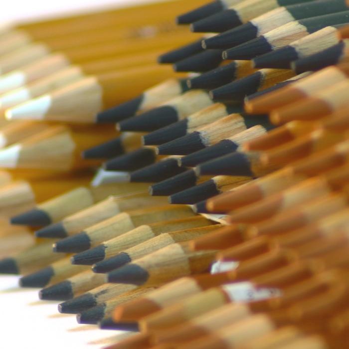 Уголь, сангина (карандаш)